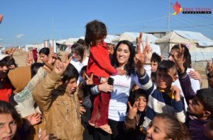Pari Ibrahim - (NL) (Foto: Free Yezidi Foundation). Voorgedragen vanwege oa: het opzetten van de Free Yezidi Foundation om hulp en bijstand te verlenen aan de Yezidi gemeenschap, in het bijzonder vrouwen en meisjes die ontsnapt zijn aan ISIS en kinderen die hun ouders verloren hebben in de oorlog. Pari zet zich o.a. in voor het aan de orde stellen van de genocide op de Yezidis in Irak. (EN) (Photo: Free Yezidi Foundation). Nominated because of: setting up the Free Yezidi Foundation to provide help and assistance to the Yezidi community, especially women and girls who have escaped ISIS and children who lost their parents in the war. Pari is committed, among other things, to raising awareness regarding the genocide against the Yezidis in Iraq.